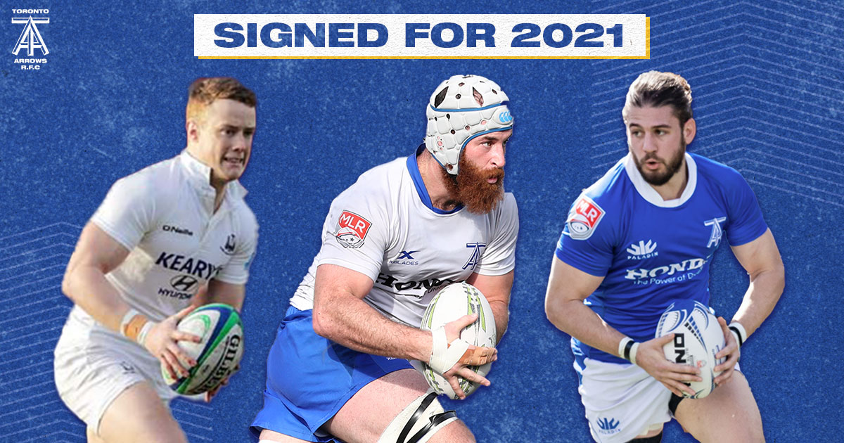 Toronto Arrows Announce the Return of Sheppard & Sheridan, Signing of Higgins
