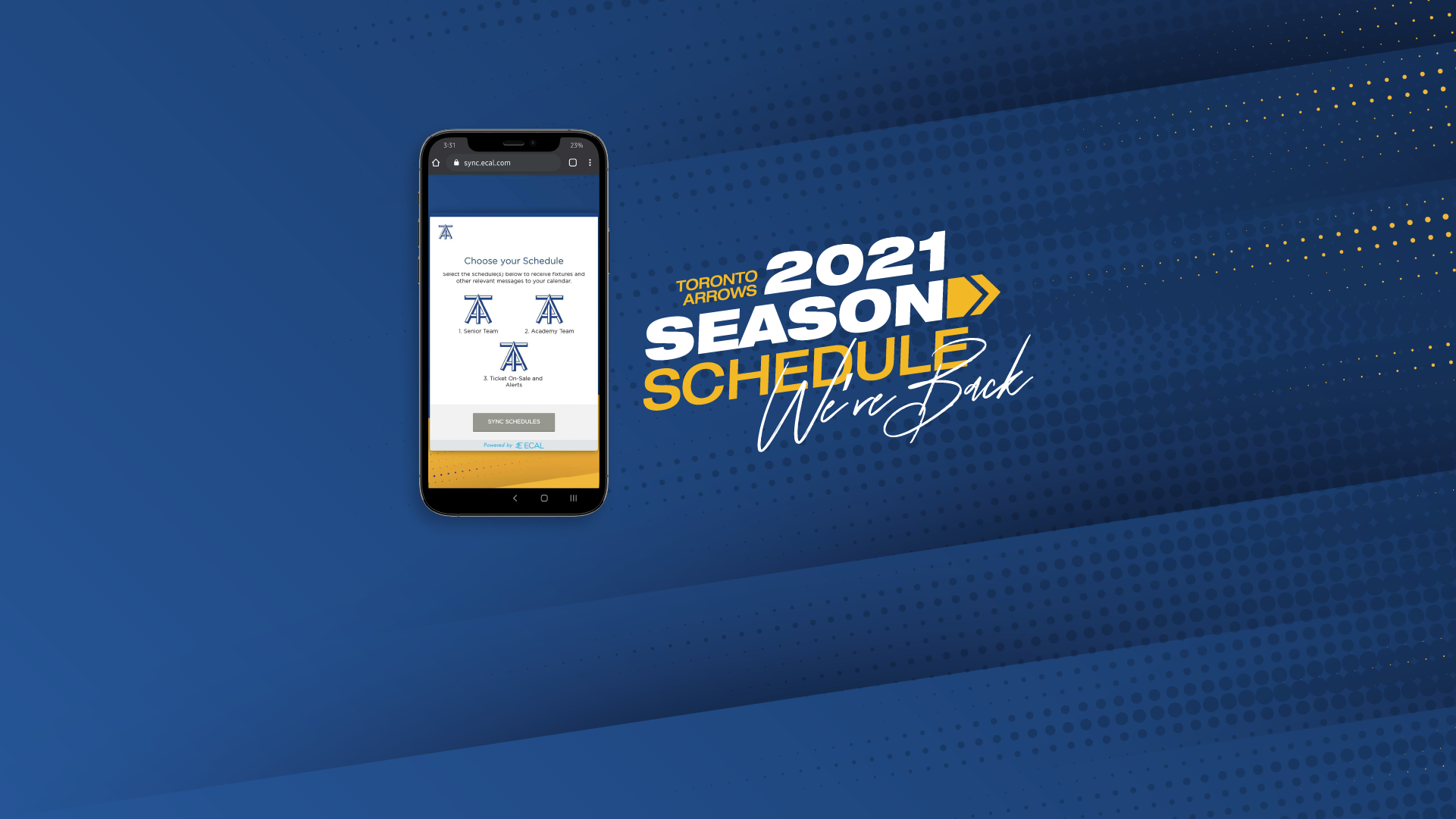 Sync our 2021 MLR Schedule Directly to your Phone