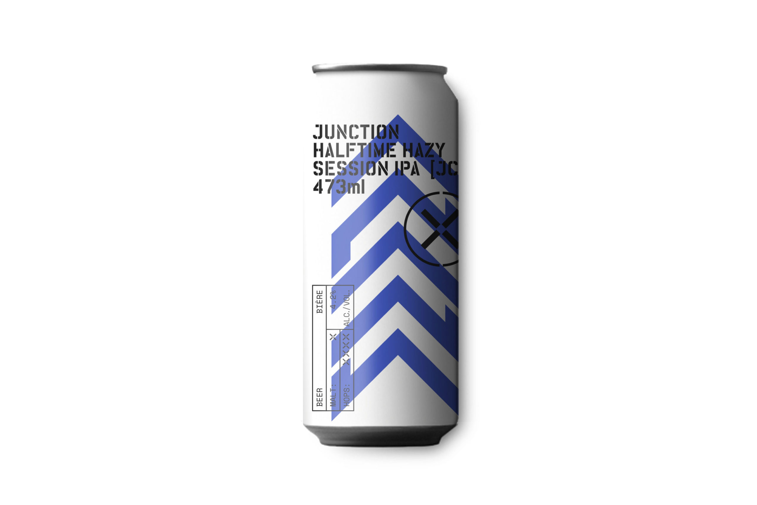 Introducing Halftime Hazy Session IPA, our Matchday Series Collab with Junction